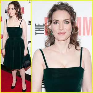 Winona Ryder: 'Dilemma' Premiere with Vince Vaughn