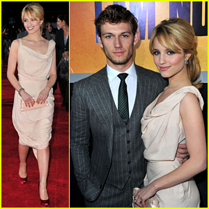 Alex Pettyfer & Dianna Agron: 'I Am Number Four' Premiere!