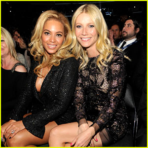 Beyonce &#038; Gwyneth Paltrow - Grammys 2011!