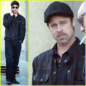 Brad Pitt: The Man In Black Break