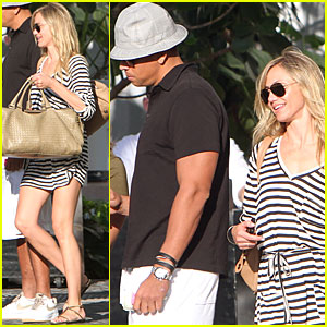 Cameron Diaz & Alex Rodriguez Meet with a Realtor