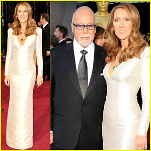 Celine Dion: Oscars 2011 Red Carpet with Rene Angelil