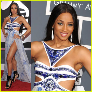 Ciara - Grammys 2011 Red Carpet