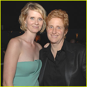 Cynthia Nixon & Christine Marinoni Welcome a Baby Boy
