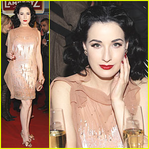 Dita Von Teese: Fashion Party in Cologne!