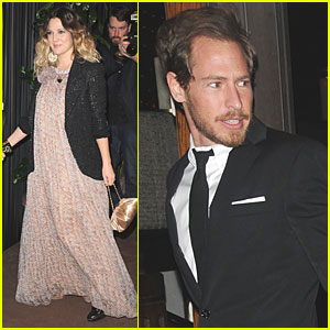 Drew Barrymore: Chanel Dinner with Will Kopelman