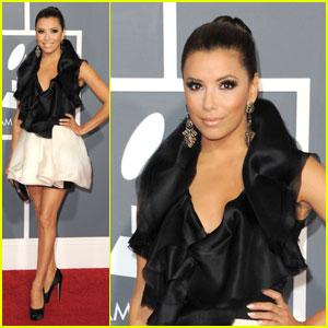 Eva Longoria - Grammys 2011 Red Carpet