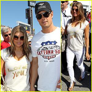 Fergie & Josh Duhamel: Daytona Duo