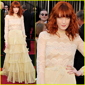 Florence Welch - Oscars 2011 Red Carpet