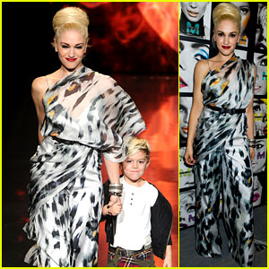 Gwen Stefani: L.A.M.B. Runway with Kingston!