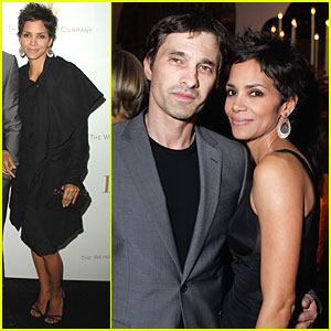 Halle Berry: Dior Dinner with Olivier Martinez
