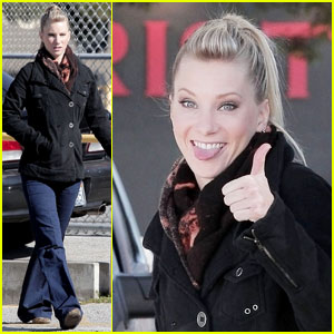 Heather Morris: Show Me How You Flirt!