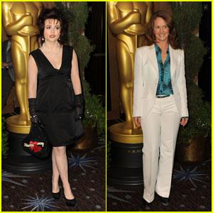 Helena Bonham Carter & Melissa Leo: Oscar Luncheon