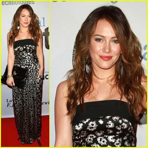 Hilary Duff: Global Action Awards Gala Girl