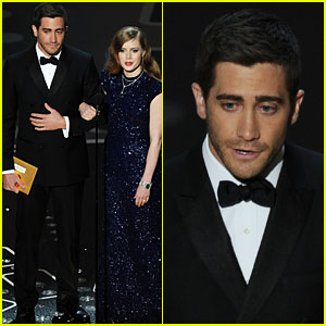 Jake Gyllenhaal & Amy Adams - Oscars 2011 Presenters!