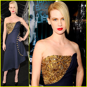 January Jones: 'Unknown' Premiere!
