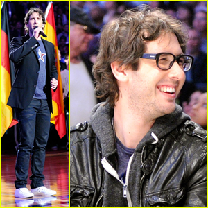 Josh Groban: All-Star National Anthem Performer