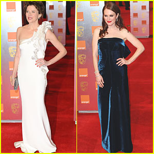 Julianne Moore & Annette Bening: BAFTAs 2011 Red Carpet