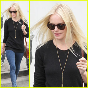Kate Bosworth Carries Her Kindle to the Salon