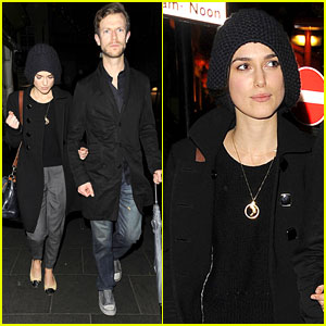 Keira Knightley: Night Out with Mystery Guy!