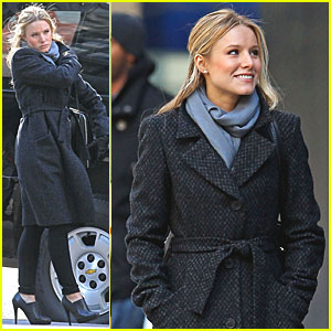 Kristen Bell: 'House of Lies' in NYC!