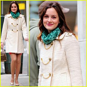 Leighton Meester: Madison Avenue Actress