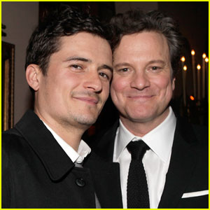 Orlando Bloom & Colin Firth: Audi Party People