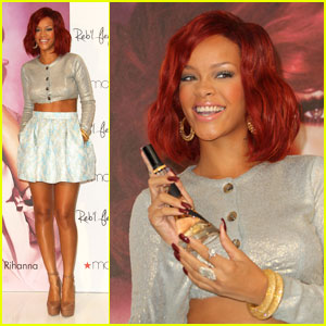 Rihanna: Reb'l Fleur Launch in Lakewood!