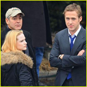 George Clooney: 'Ides' with Ryan Gosling & Evan Rachel Wood