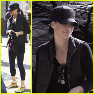Sandra Bullock: Focused On Her Fitness