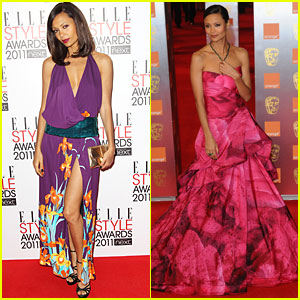 Thandie Newton: BAFTAs and Elle Style Awards!
