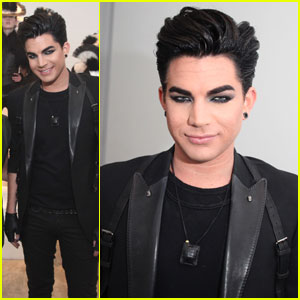 Adam Lambert Supports Skingraft Installation