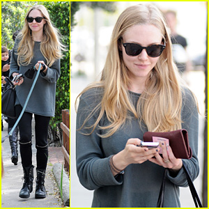 Amanda Seyfried: Joyful Day Date!
