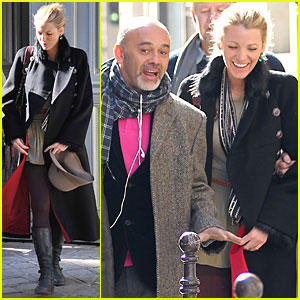 Blake Lively: Day Out with Christian Louboutin!