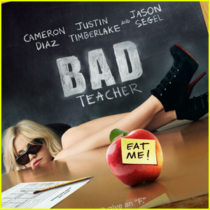 Cameron Diaz's 'Bad Teacher' Poster - Exclusive!