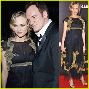 Diane Kruger: Cesars with Quentin Tarantino!