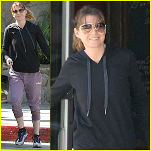 Ellen Pompeo: Grocery Run!