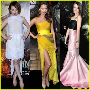 Emily Browning & Jamie Chung: 'Sucker Punch' Premiere!