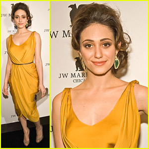 Emmy Rossum: JW Marriott Chicago Grand Opening