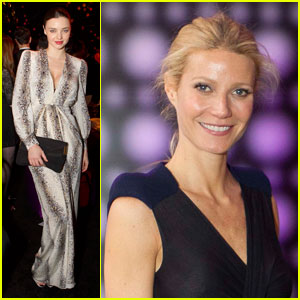 Miranda Kerr &#038; Gwyneth Paltrow: Balenciaga &#038; Spain Gala