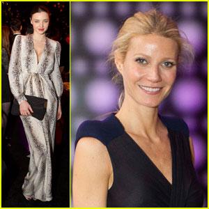 Miranda Kerr & Gwyneth Paltrow: Balenciaga & Spain Gala