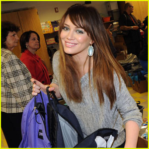 Hilary Duff Brings Blessings in a Backpack to Atlanta