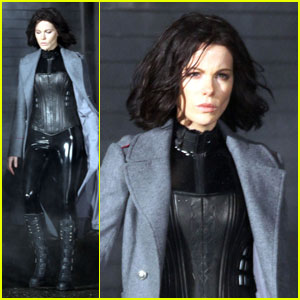Kate Beckinsale: 'Underworld 4' Shoot in Vancouver