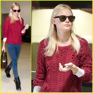 Kate Bosworth: Red Arrival at LAX