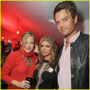 Kate Hudson: Jake Shears Dinner with Fergie & Josh!