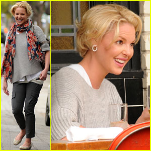 Katherine Heigl: Little Dom's Lunch!