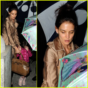 Katie Holmes: 'How to Succeed in Business' with Suri Cruise!