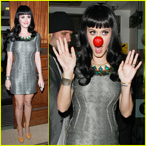 Katy Perry: Red Nose for Red Cross!