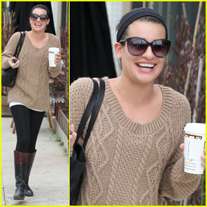 Lea Michele: Joyful Java Run