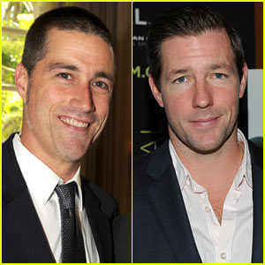 Matthew Fox: 'I, Alex Cross' with Ed Burns!
